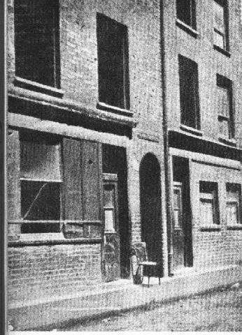 Miller's Court en la época de los asesinatos